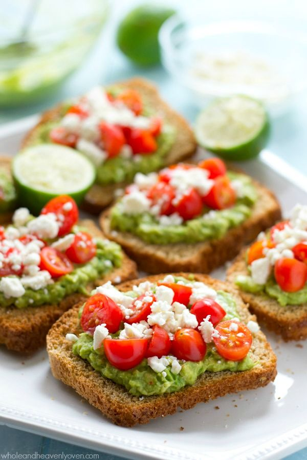 This greek-style avocado toast is quick and healthy enough for a filling weekday breakfast, but also fancy enough for any weekend brunch!