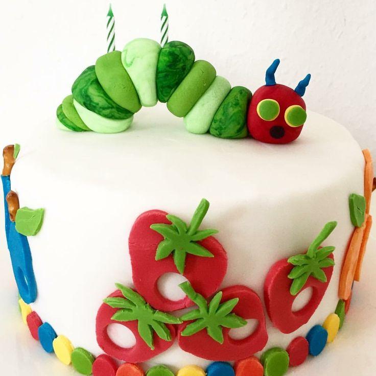 Kleine Raupe Nimmersatt Torte