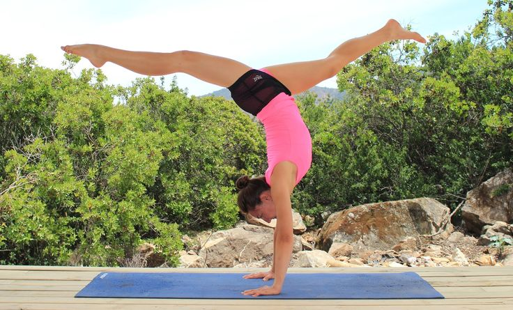 Parada de manos - handstand - paso a paso tutorial