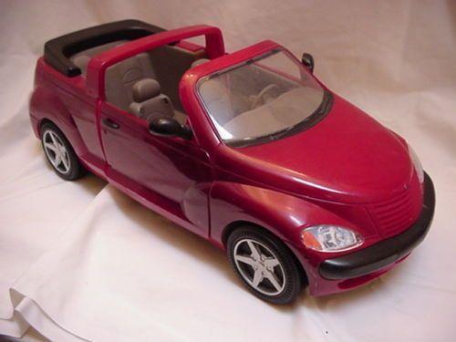 (4) Barbie Chrysler PT Cruiser - I bought this car on E-Bay. | Barbie Vehicles 2000's | Pinterest