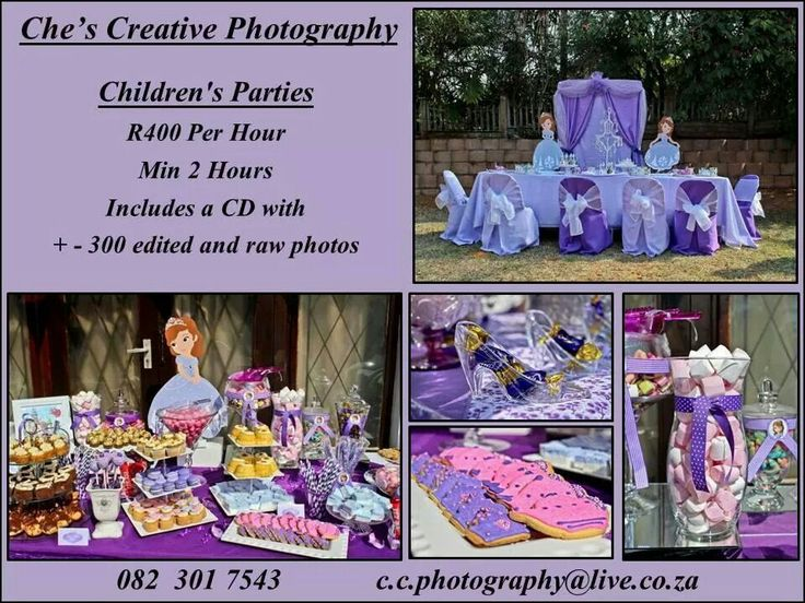 Kids party sofia the frist party
