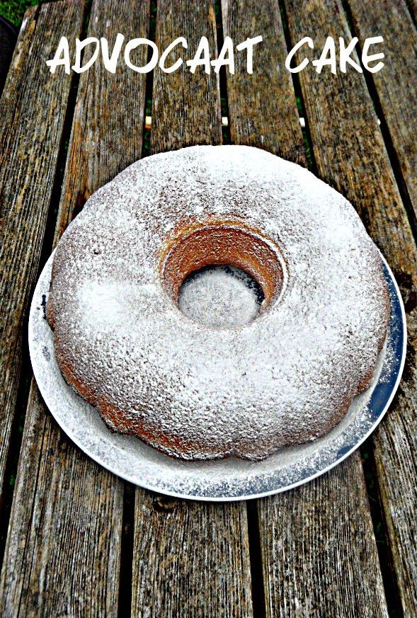 Advocaat cake. This looks great!