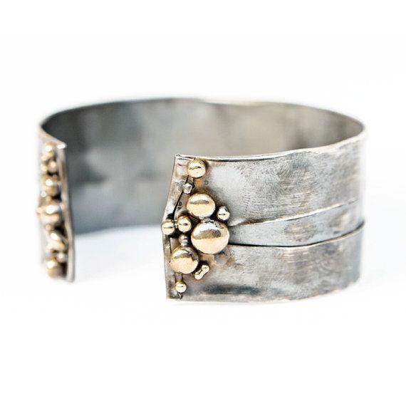 Continental Divide Adjustable Bracelet by UnionStudioMetals, $130.00
