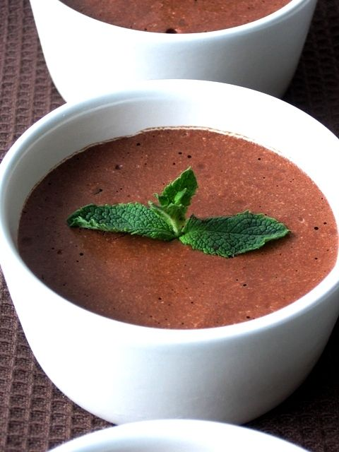SIMPLE CHOCOLATE MOUSSE | All Things Cooking | Pinterest