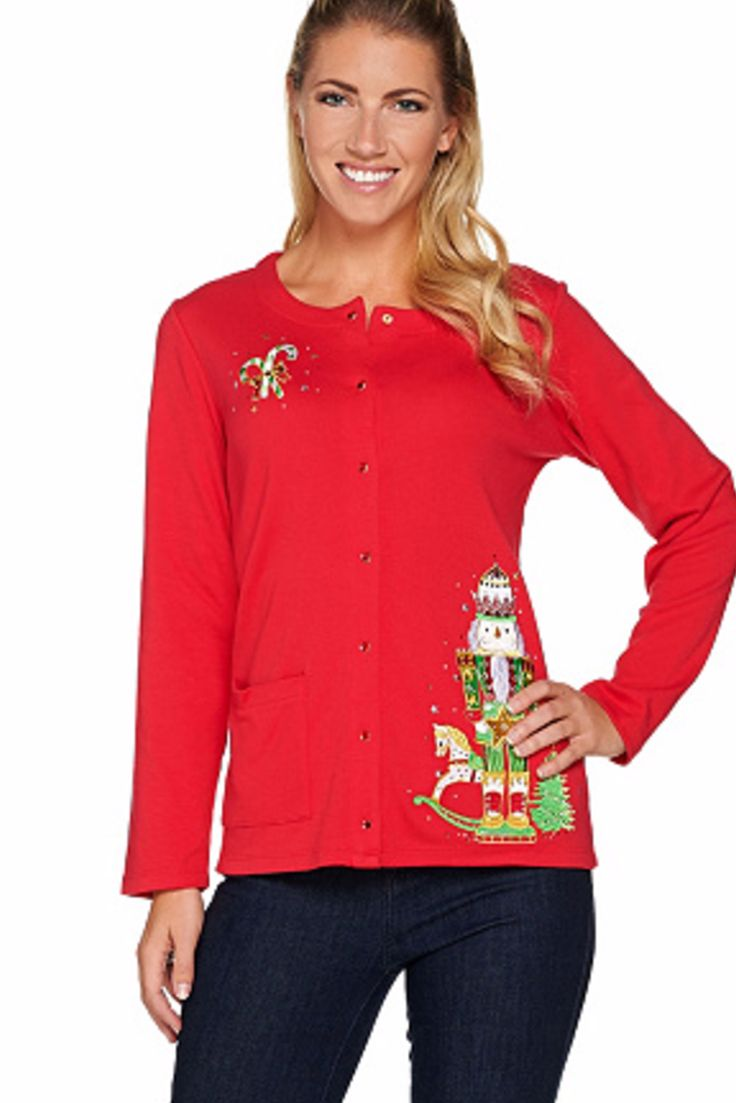 204 best Cute Christmas Sweaters for Women images on Pinterest