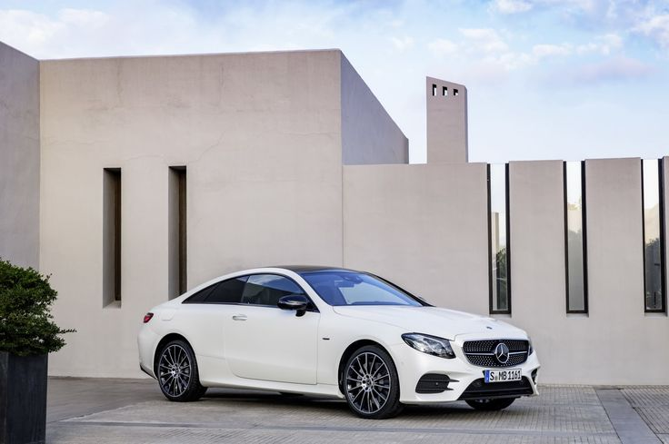 2018 Mercedes-Benz E-Class Coupe revealed online about a month before it debuts in the flesh at the Detroit Auto Show in January.
