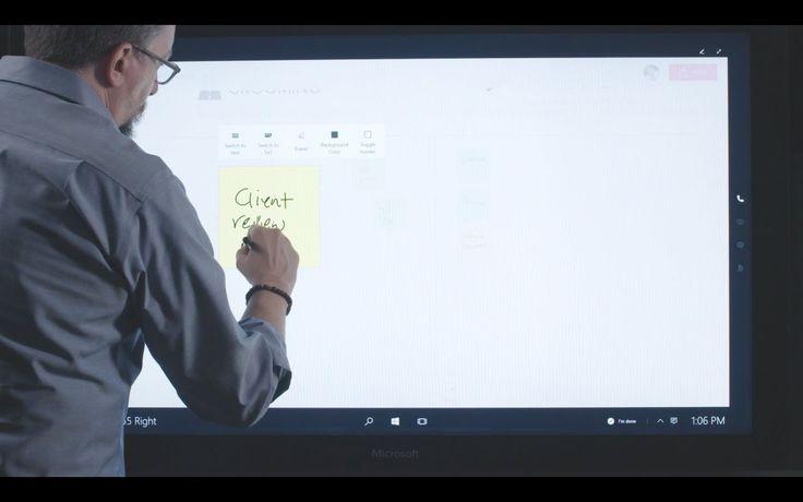 Microsoft Surface Hub | Microsoft Surface Hub and MURAL demo