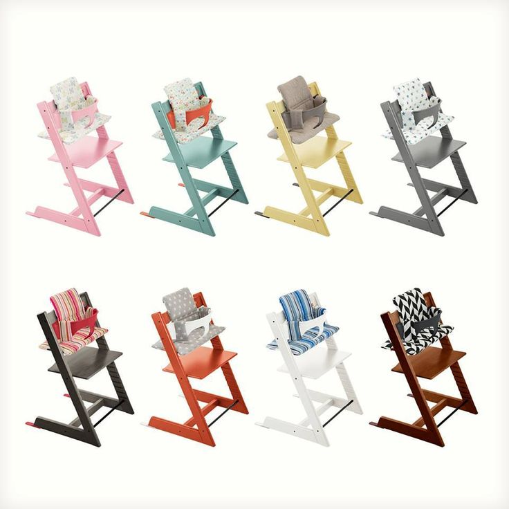 Our fan favorite Stokke Tripp Trapp chair is now available in more colors & accessories than ever! Live in the USA? visit this link nd style a Tripp Trapp with our easy online configurator for a chance to win one of your very own Tripp Trapp's !