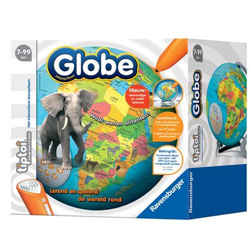 TipToi Globe van Ravenburger, Speelgoed van het Jaar 2013