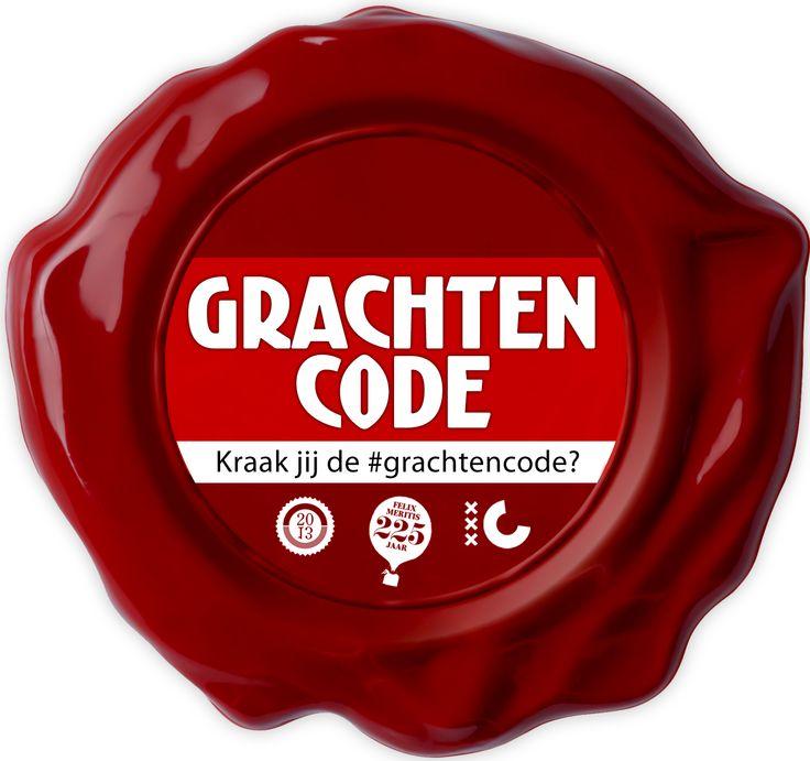 Kraak jij de #grachtencode? Speel mee van dinsdag 1 t/m zondag 13 oktober en maak kans op een bezoek aan het #Observatorium van Felix Meritis, in het donker! http://www.grachtencode.nl