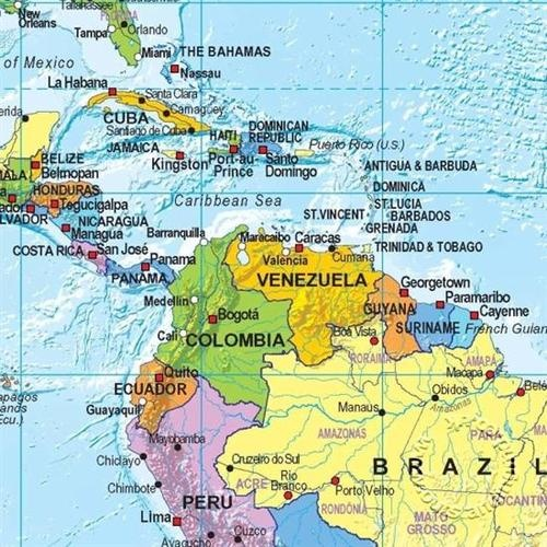 Best Latin America Political Map Ideas On Pinterest Latin - Political map of jamaica