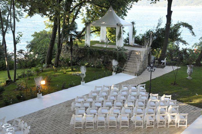 Avrupa Yakası Açık Hava Düğün Mekanları - En İyi Düğün Yerleri