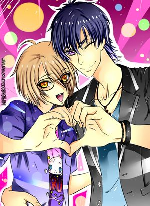Love Stage!! AHHH THAY ARE SO CUTE! But the cliff hanger at the end of vol.4!!!!
