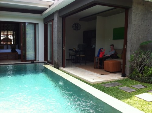 Love a private villa with a pool. This baby is the Seminyak Icon in Bali.