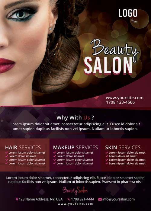 Hair Salon Flyer Templates