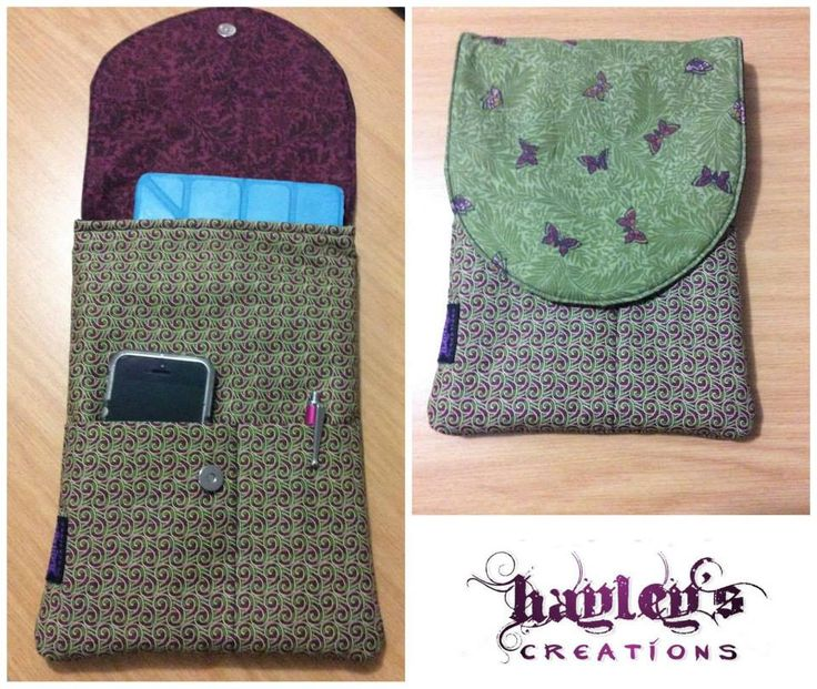Handmade by Hayley's Creations  Butterfly Ipad / E-reader Case