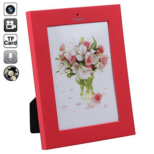 Prweyn Spy Camera Photo Frame 16GB New Home Bedroom Photo Frame CCTV 1280x960 Pixel Spy Cameras Mini Dv Mini Camera Dvr Audio Video AVI Hidden Cameras *** Learn more by visiting the image link. http://www.amazon.com/gp/product/B01FO049GQ/?tag=gadgets3638-20&pvw=021016180535
