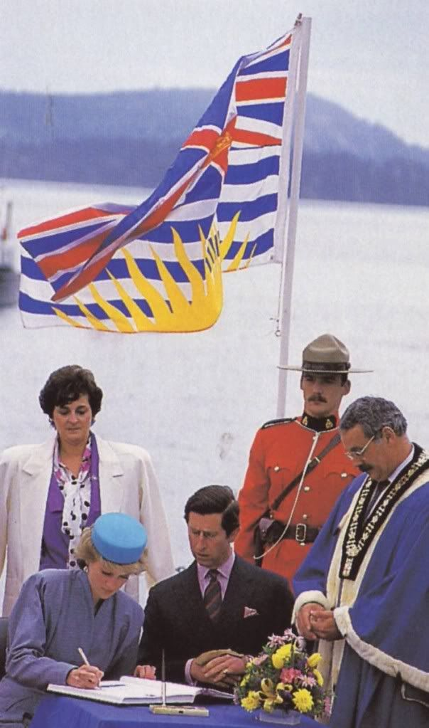 Charles & Diana in British Columbia, Canada
