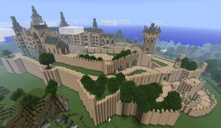 Hohenzollern Castle Minecraft, minecraft castle blueprints - Friv ...