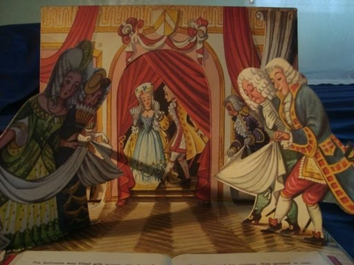 Vintage Cinderella pop-up book