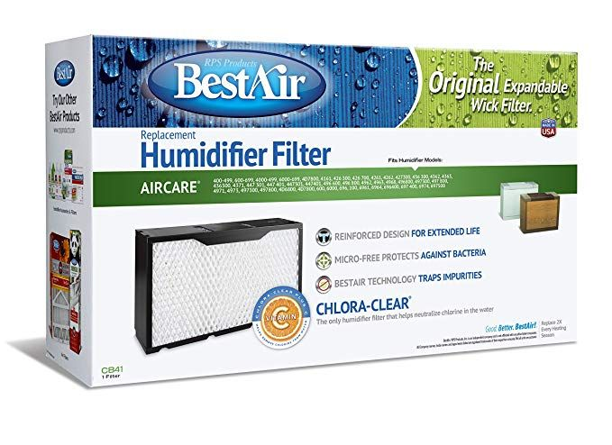 Bestair Cb41 Essick 1041 Replacement Paper Wick Humidifier Filter 17 X 5 X 10 Review Humidifier Filters
