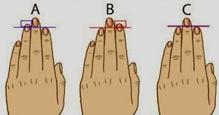 De acordo com um novo estudo divulgado pelo site Diply, o segredo para seus traços de personalidade está em suas mãos. Mais especificamente, no comprimento do seu dedo anelar. Aparentemente, de acordo com a ciência, o dedo anelar mostra ao quanto de testosterona você foi exposta enquanto crescia no ventre, o que p