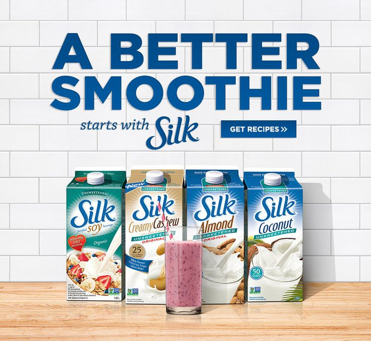 Delicious Silk Soy, Almond, Coconut and Cashew Beverages | Silk