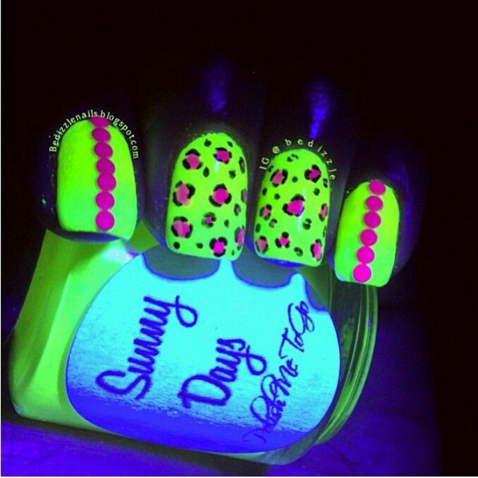 26 Best Images About Glow In The Dark Nail Polish On Pinterest