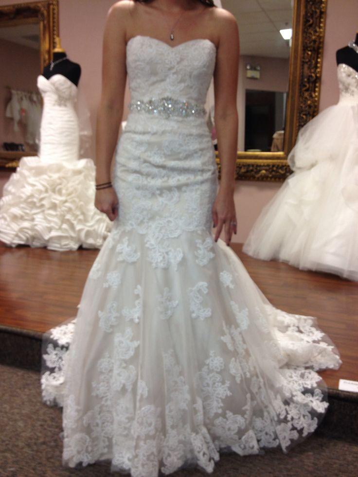 Trumpet Bottom Wedding Dresses : Trumpet wedding dress dressses flora fit trumpets