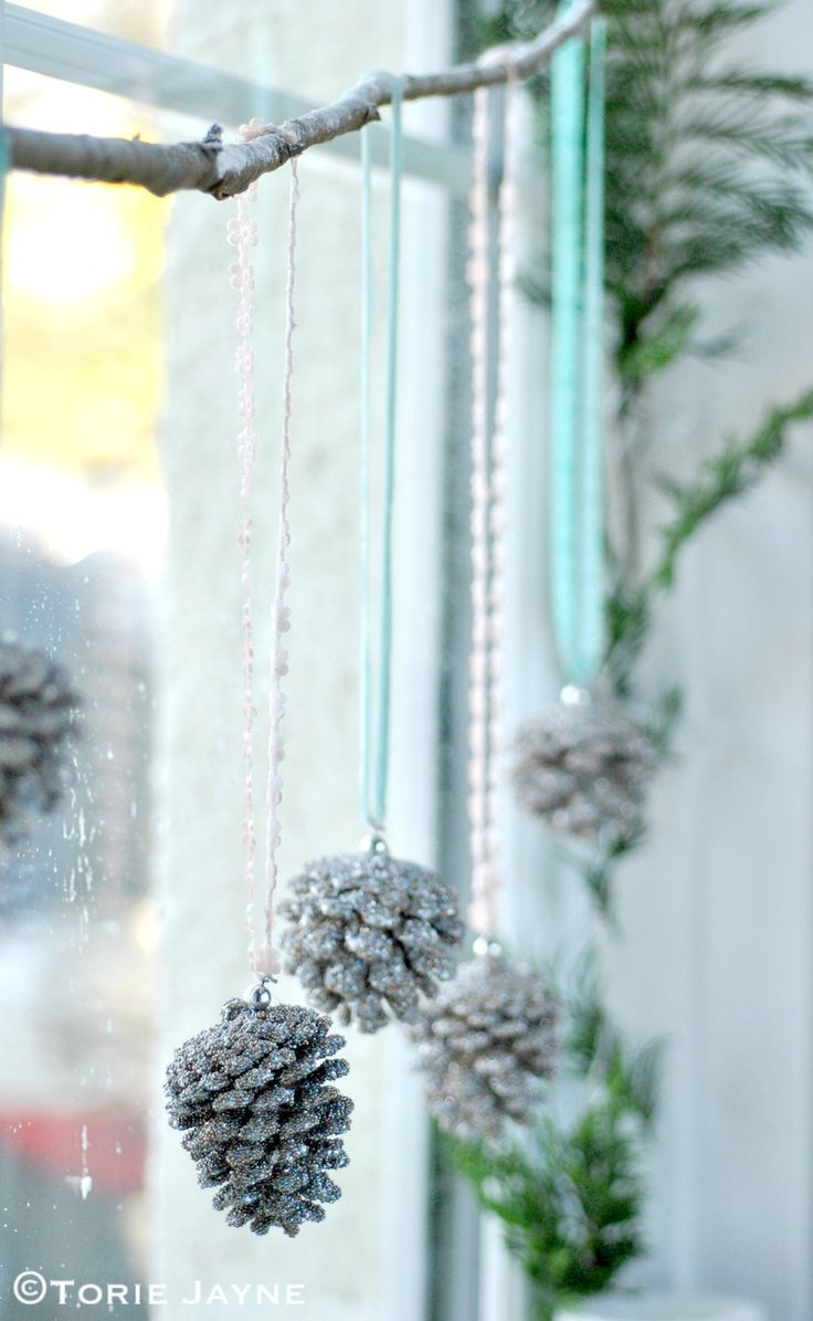 Laura Ashley Blog: Set the scene for Christmas with this winter wonderland window.