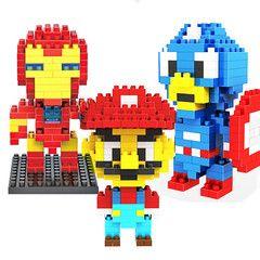 Diamond Block Building - educational toy for children
