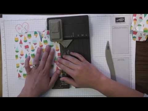 ▶ Stamping Jill - Gift Bag Punch Board - YouTube