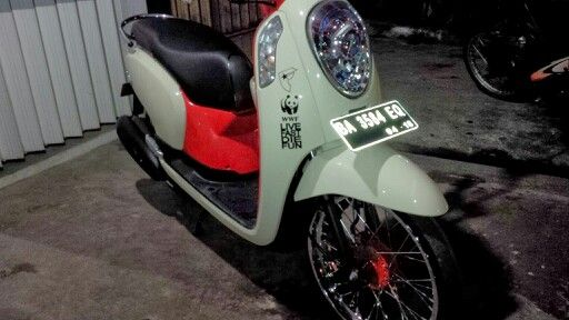 My Honda Scoopy
