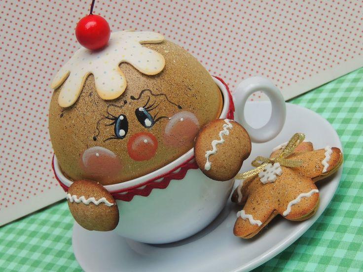 Ginger na xícara