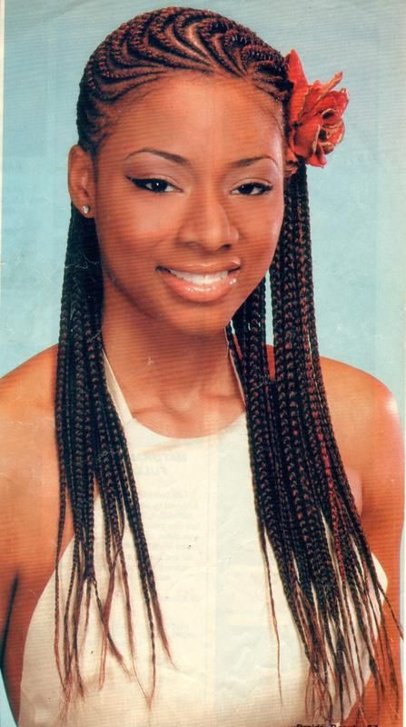 Corn Rows Designs for Women | Ghana Cornrow Styles