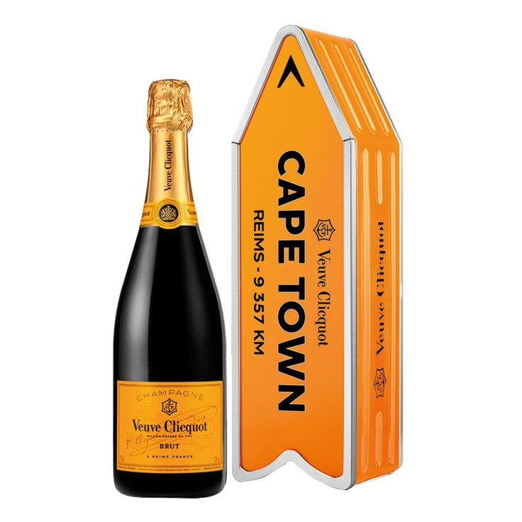 VEUVE CLICQOUT ARROW GIFT 750ML