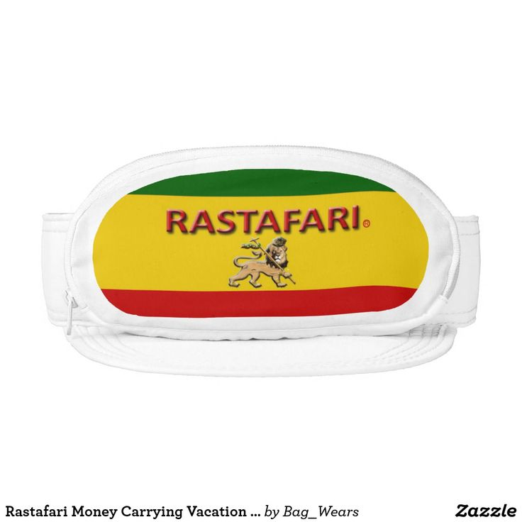 Rastafari Money Carrying Vacation Bag Hat https://www.zazzle.com/bag_wears/products?rf=238136051362953437
