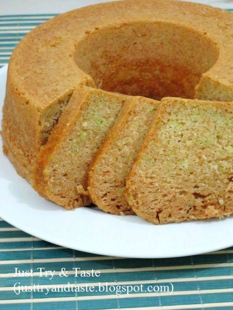Just Try & Taste: Cake Kukus Tape Ketan Hijau