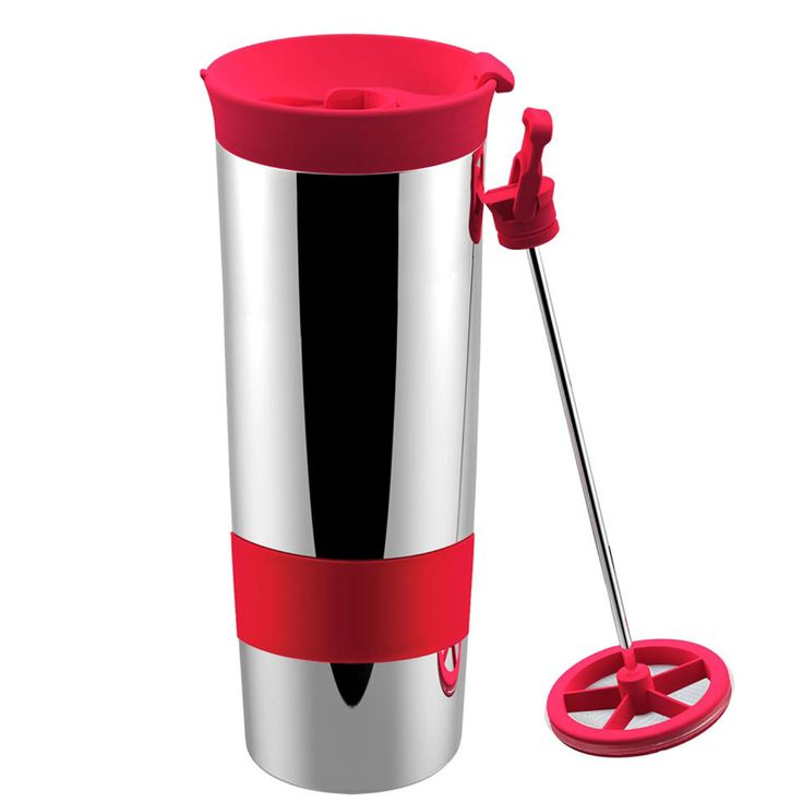 French Press 2 Go Mug. Great gift idea for coffee lovers coffee