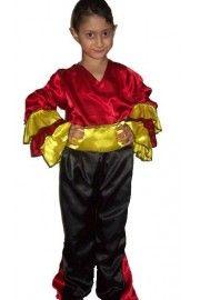 Erkek İspanyol Dans Kostümü, Erkek Çocuk Kostümleri, Ülke Kostümleri,Erkek Çocuk Ülke Kostümleri,