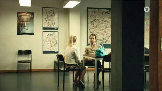 Filmbilder von 'TATORT' Dortmund – 'Hundstage' – Szenenbild Claus Kottmann – Kamera Thomas Benesch – Regie Stephan Wagner