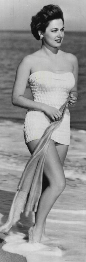 Ruth Roman In Tanganyika 1954