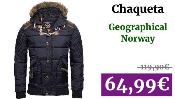 chaqueta alcohcada geographical norway hombre