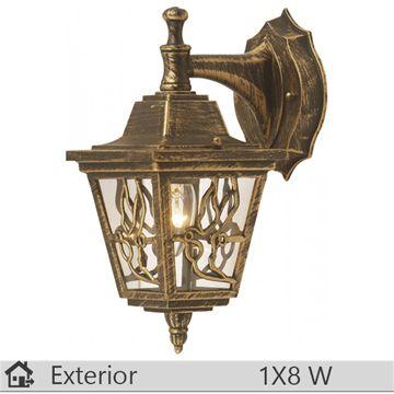 Aplica iluminat decorativ exterior Klausen, gama Boston, model nr3 Bronz…