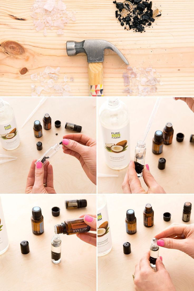 Learn how to make roll on perfume using essential oils + crystals. Each blend has a different effect, so experiment away!