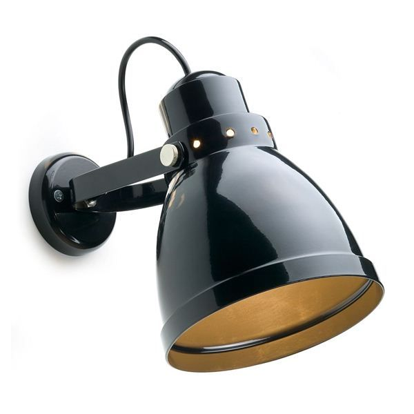 Wandlamp groot zwart. DeJaren30Fabriek.nl Industrials & Design. Wandlampe grijs, wandlamp zwart, wandlamp wit.
