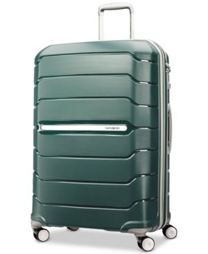 "Samsonite Freeform 28"" Expandable Hardside Spinner Suitcase - Green"