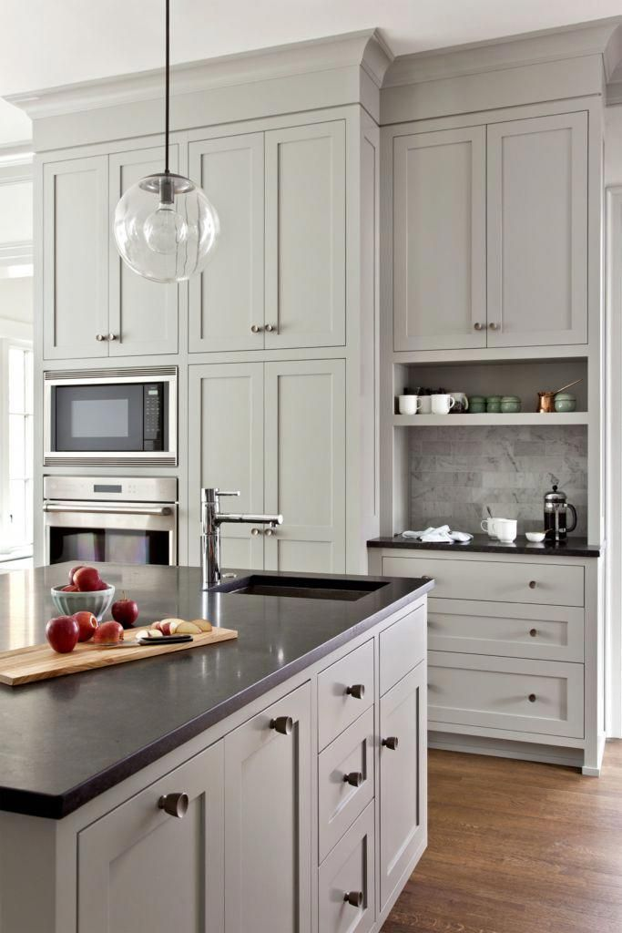 Discover more on taupe kitchen cabinets kitchencab # ...