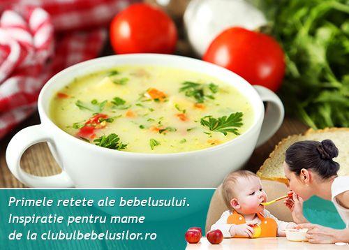 Supa cu fulgi de ou pentru bebelusi de la 10-12 luni