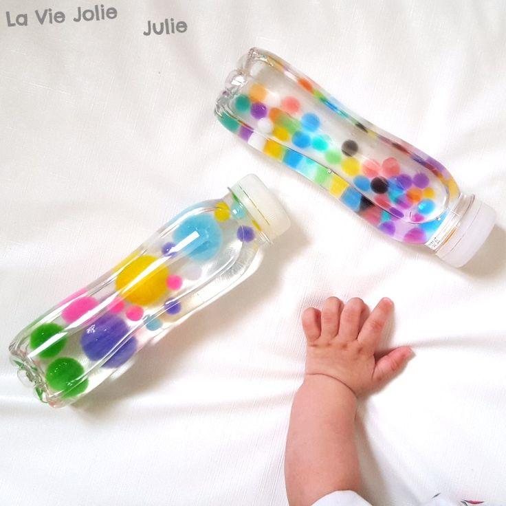 Nouvelles bouteilles sensorielles !                                                                                                                                                                                 Plus